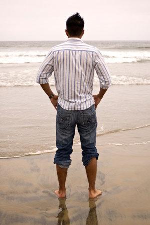 Male model photo shoot of Luciano Leon