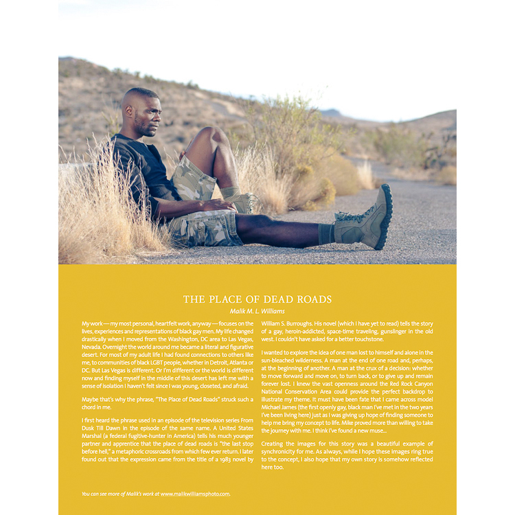 Male model photo shoot of malik m.l. williams and Mikehasmail in Red Rock Canyon, Las Vegas, NV