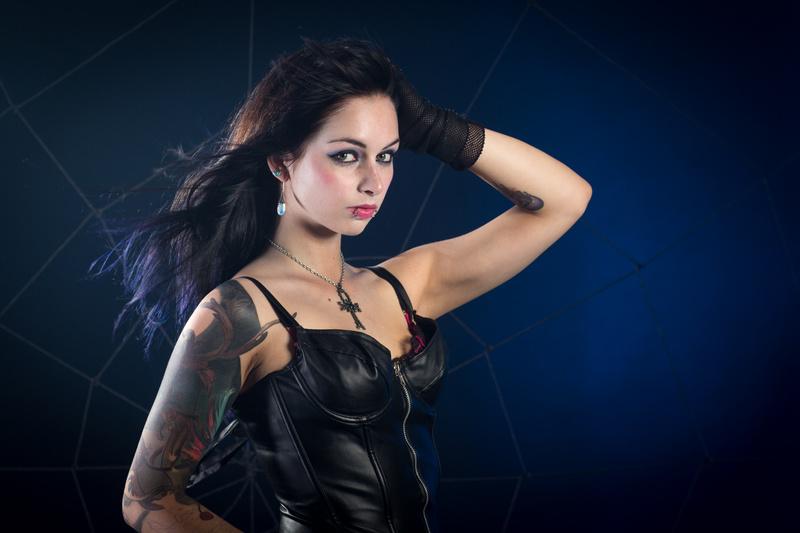 Female model photo shoot of Ethereal Misfit