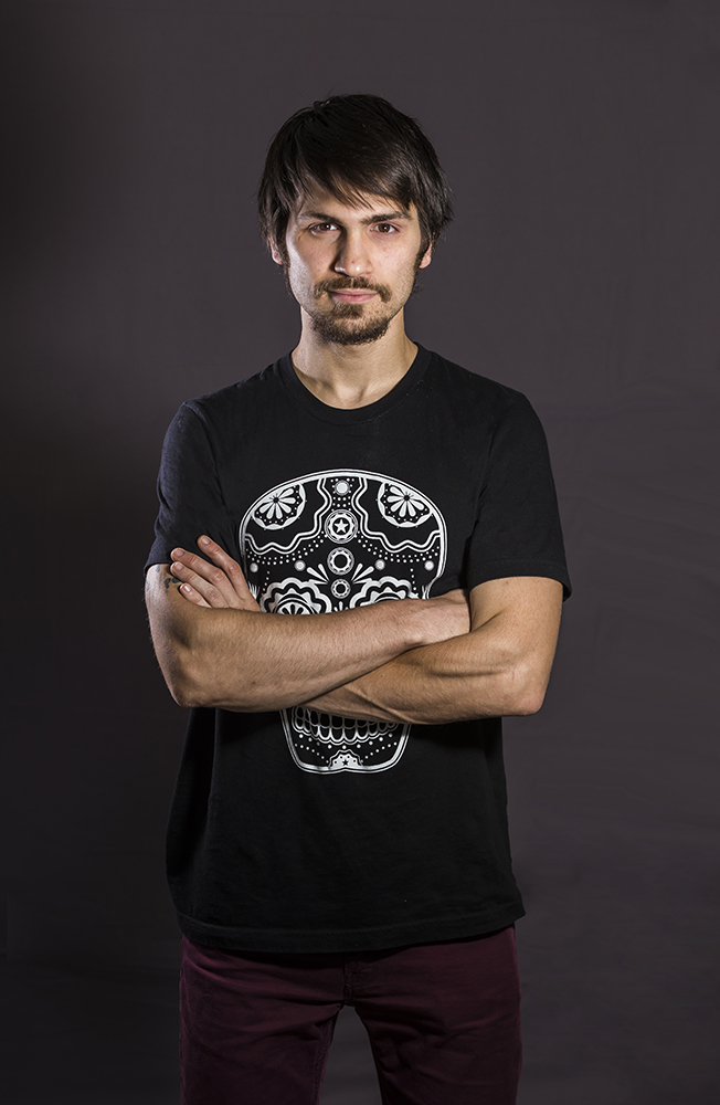 Male model photo shoot of SkvLTD in My studio