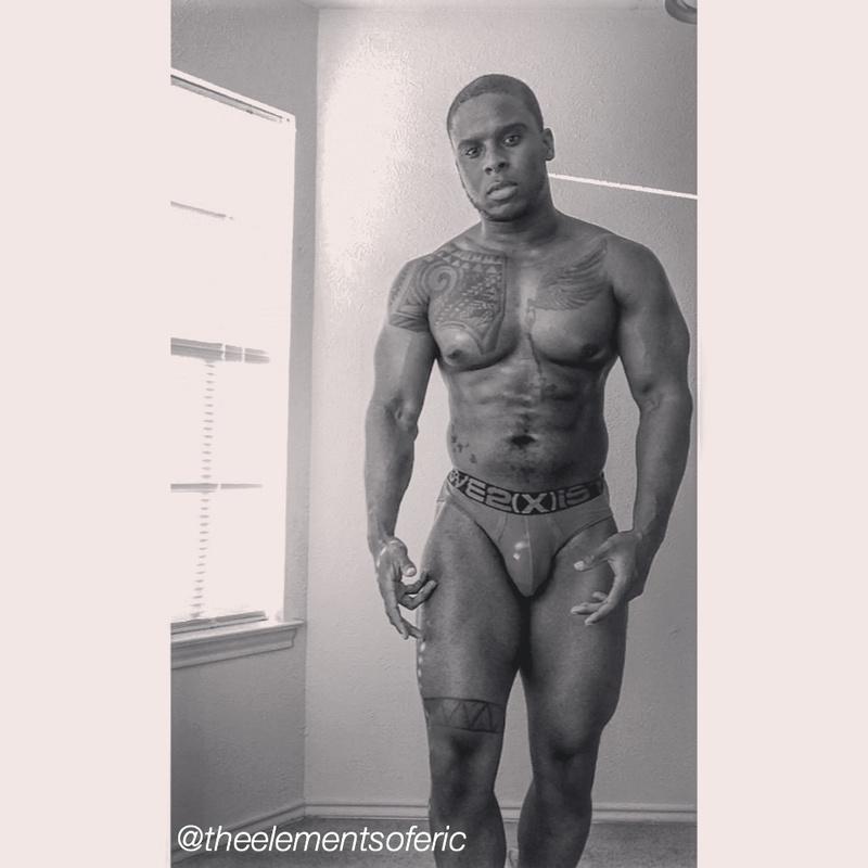 nude Black model eric crawley