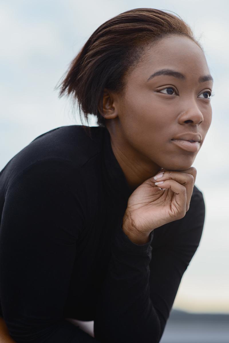 Female model photo shoot of PinketRose_
