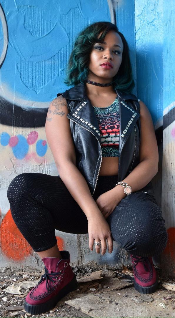 Female model photo shoot of Desiree carter by Chris Kurk Photography