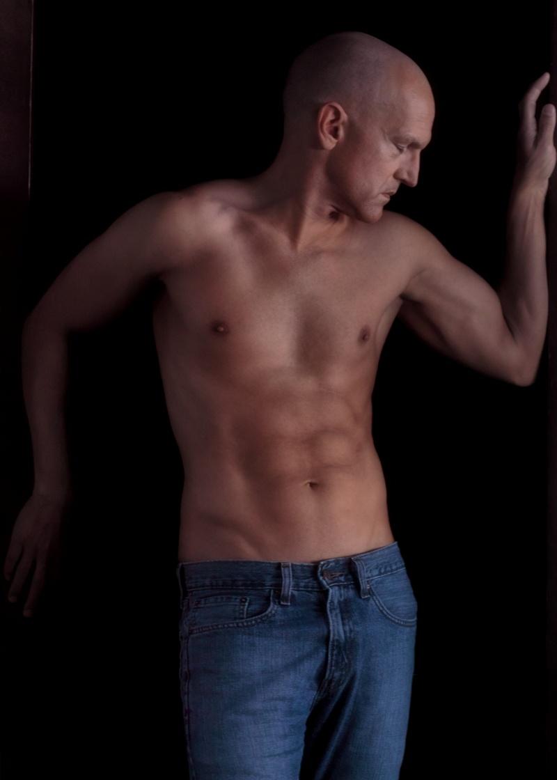 Male model photo shoot of Avid Light