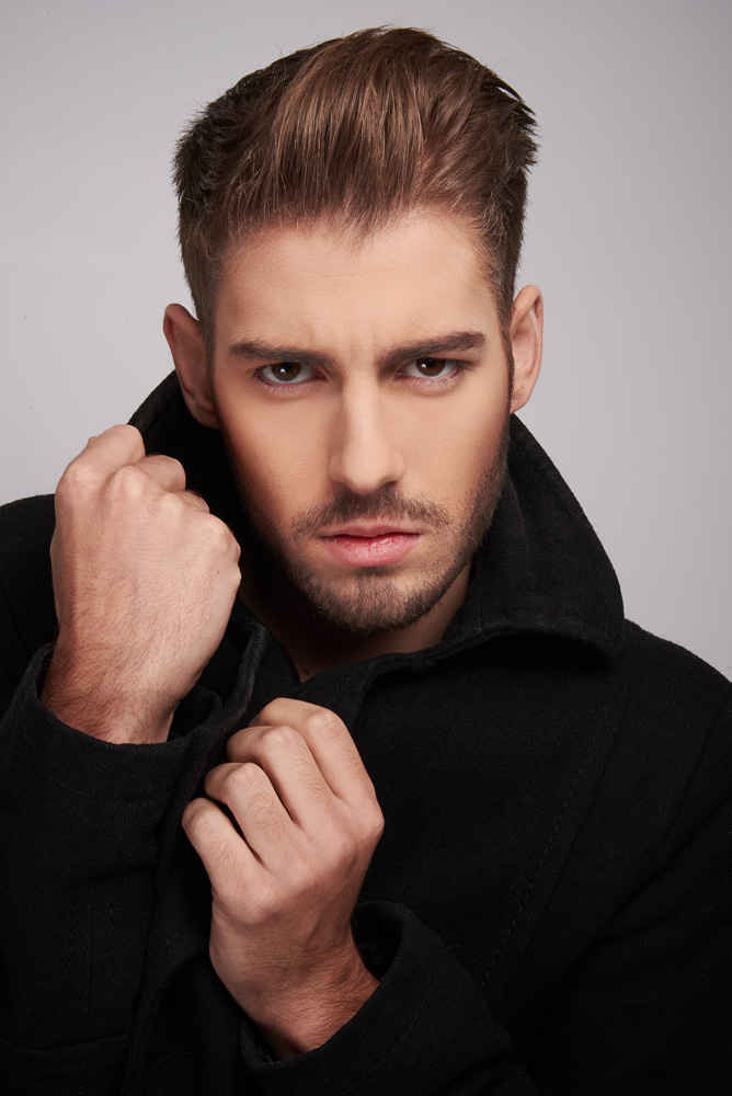 Male model photo shoot of Serge P by MorganeSMN