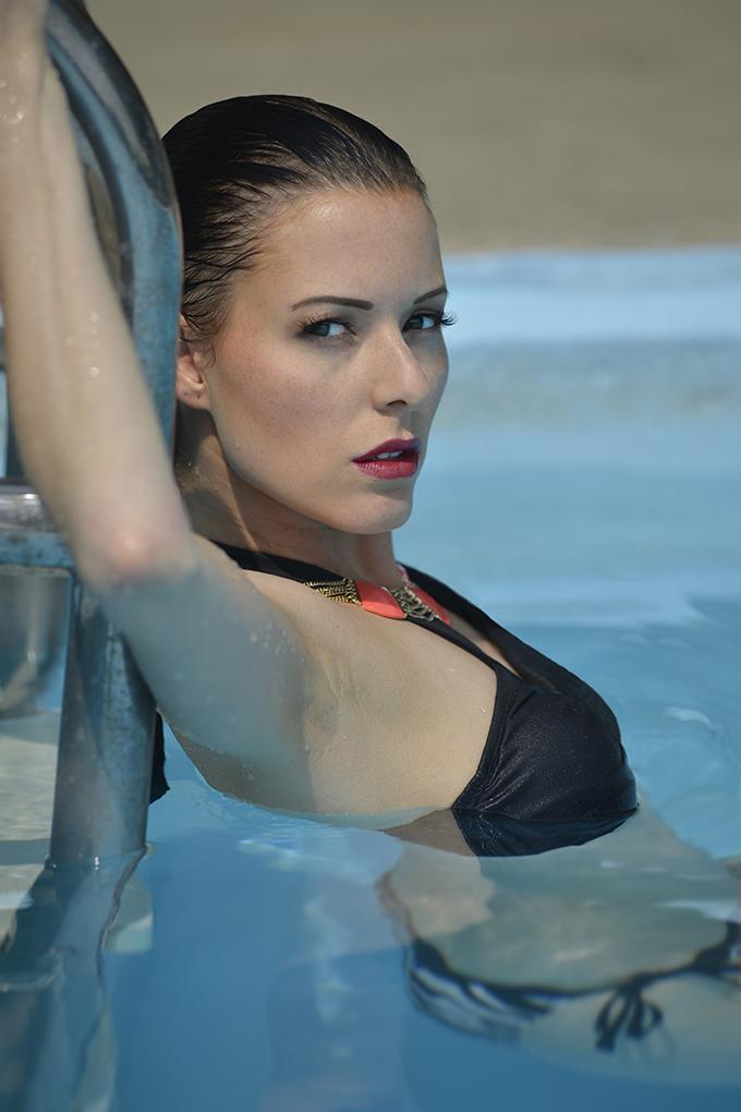 Female model photo shoot of Anouck in Ottawa, ON
