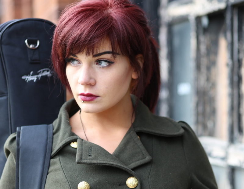 Female model photo shoot of Duglyfuckling