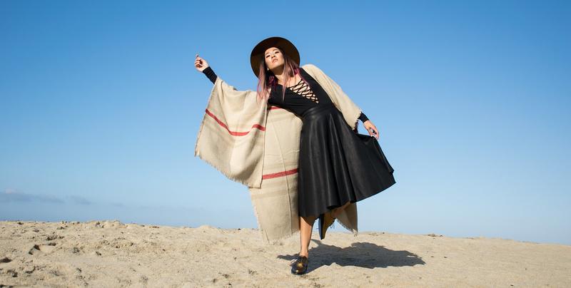 Female model photo shoot of Amanda Nguyen  in Laguna Beach, CA