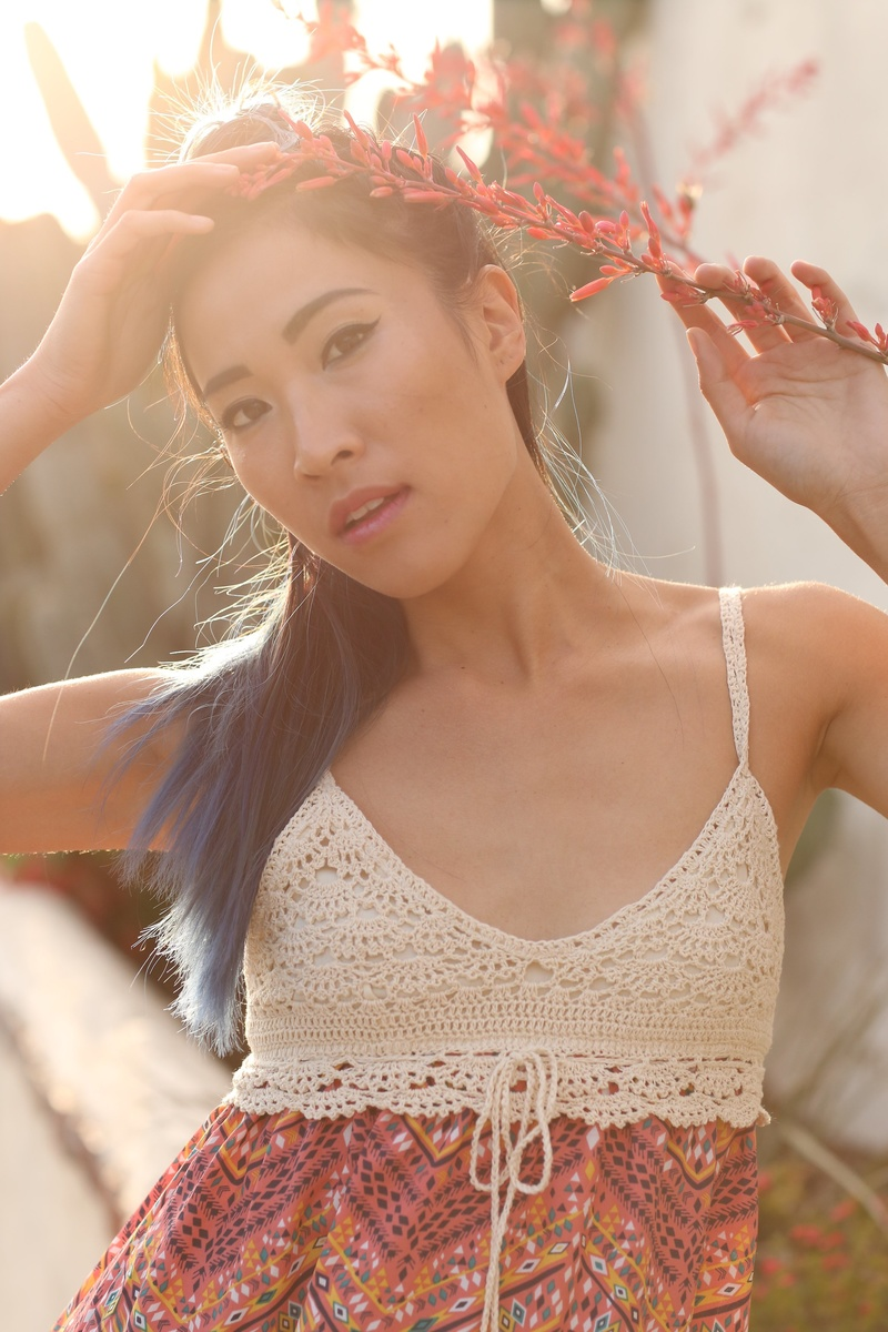 Female model photo shoot of Amanda Nguyen  in San Juan Capistrano, CA