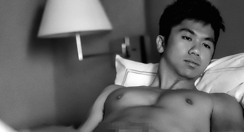 Male model photo shoot of David Chou in Singapore