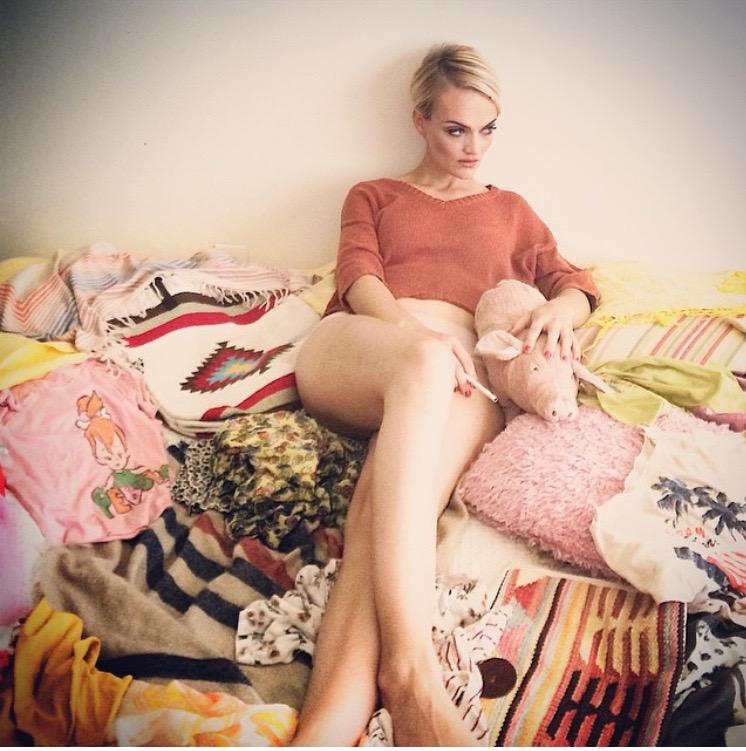 Female model photo shoot of Carleen Williams, wardrobe styled by Sika Senro