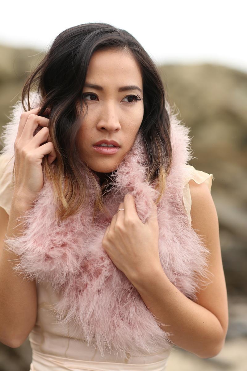 Female model photo shoot of Amanda Nguyen  in Salt Creek Beach, CA