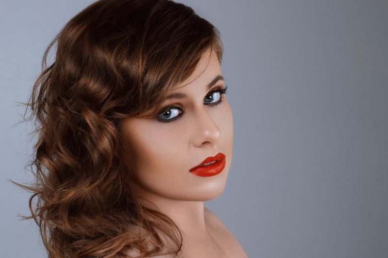 Female model photo shoot of Melissa_Bee by Docmaher, makeup by Mona Makeup