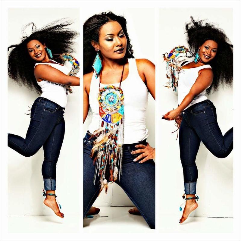 Female model photo shoot of Nidell Maono
