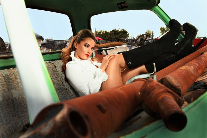 Male model photo shoot of KANE SURSHOTA in Junkyard shoot AZ, retouched by 01-ChallengHer Retouch