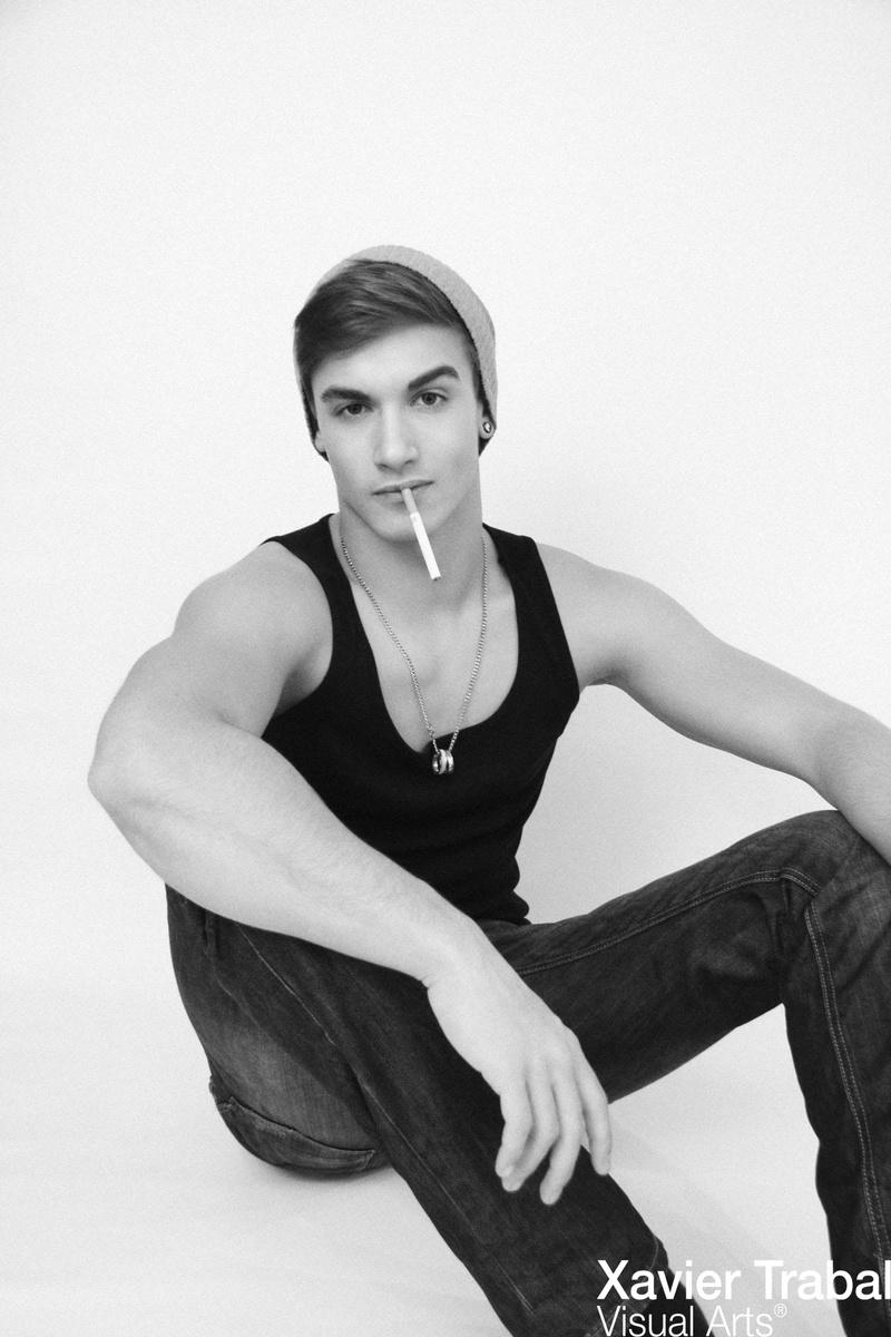 Male model photo shoot of XavierTrabal
