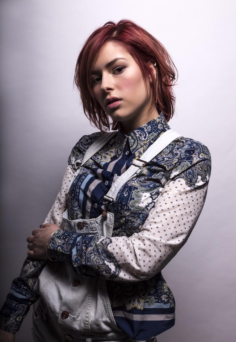 Female model photo shoot of Karenatelier