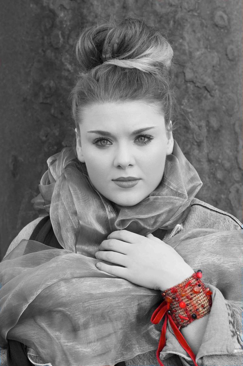 Female model photo shoot of Clare Newton in Brighton Sea Front