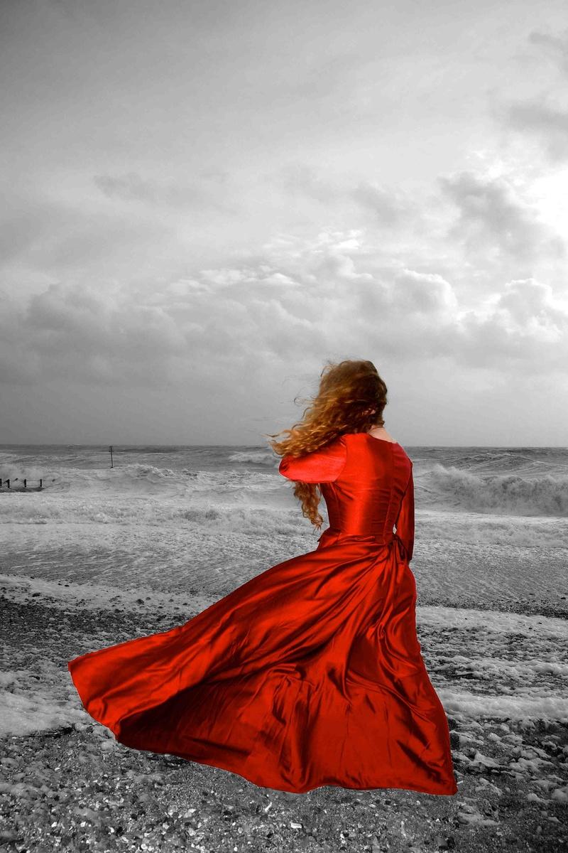 Female model photo shoot of Clare Newton in Hove Beach
