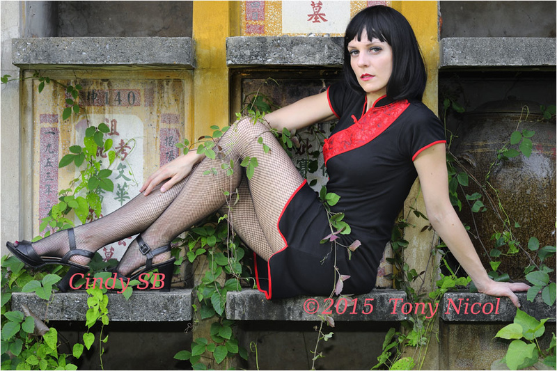 Female model photo shoot of Cindy SB by Tony Nicol