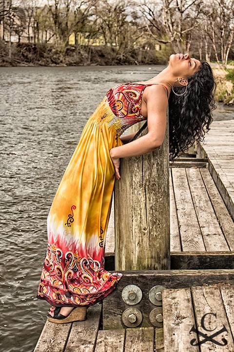 Female model photo shoot of Nini D by Jack the Calico in riverside park ypsi mi