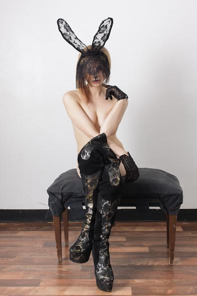 Female model photo shoot of Nola Bunny