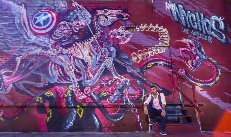 Male model photo shoot of sandog in Los Angeles