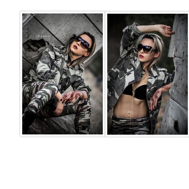 Female model photo shoot of LII