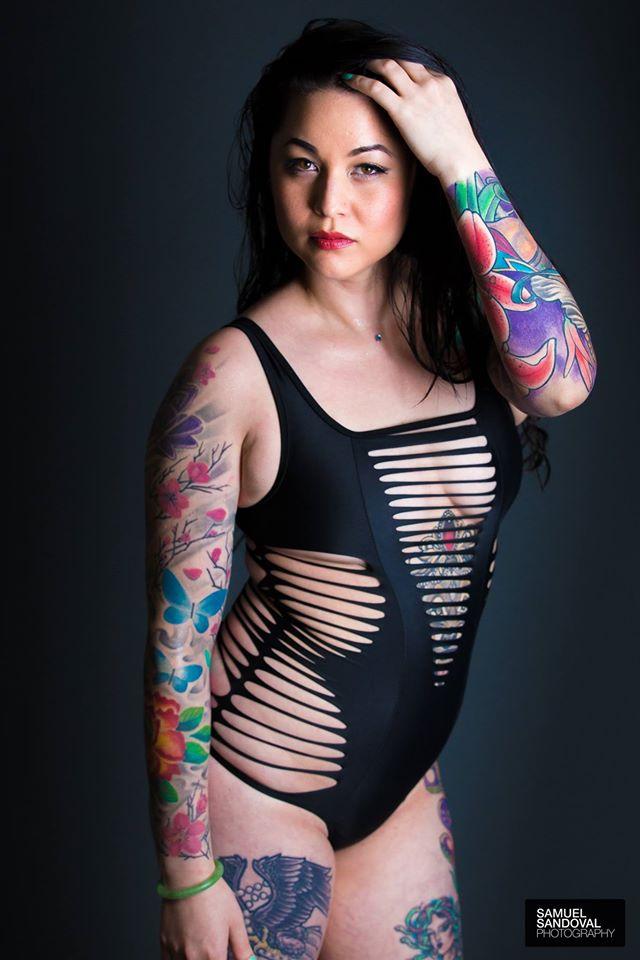 Female model photo shoot of Robin Fang by Samuel Sandoval Photography