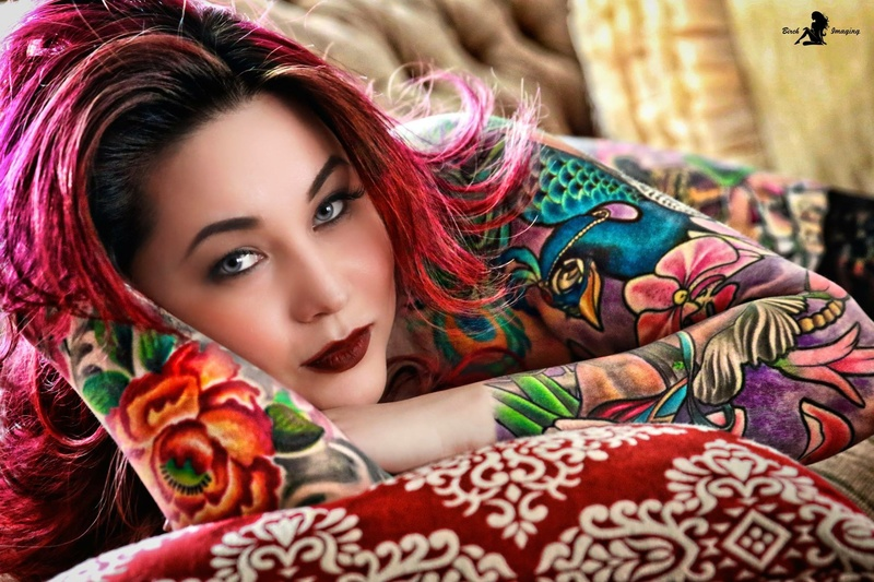 Female model photo shoot of Robin Fang by Birch Imaging