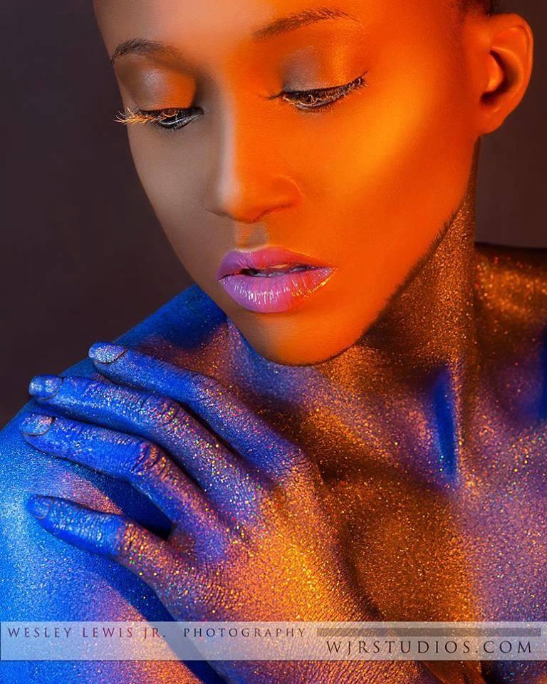 Female model photo shoot of Sharli B Artistry and Aquetta Stiger by WJR Studios in WJR Studios