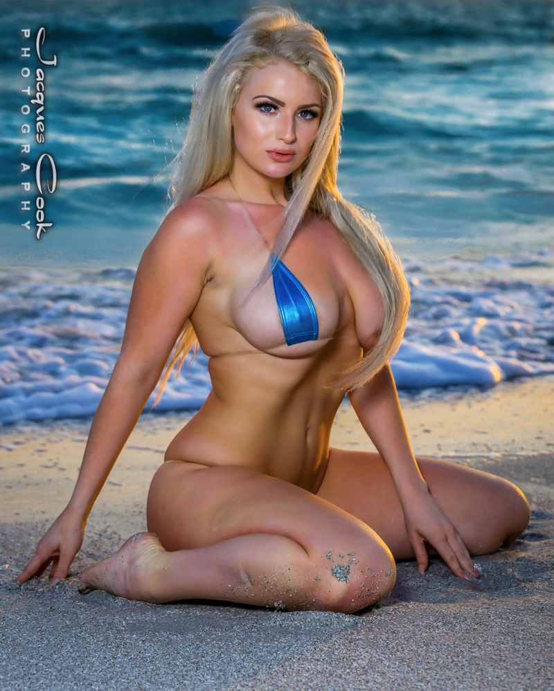 Male and Female model photo shoot of JAX Glamour Photography and Emmy Elle in Sunset Beach