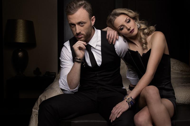 Male and Female model photo shoot of Ivan Yordanov and Velislava in Sofia, Bulgaria