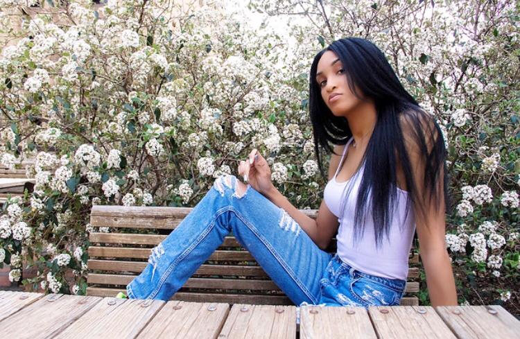 Female model photo shoot of PreciousAgu