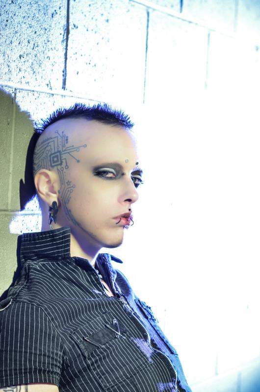 Male model photo shoot of Jareth Nebula Boy by GWaas