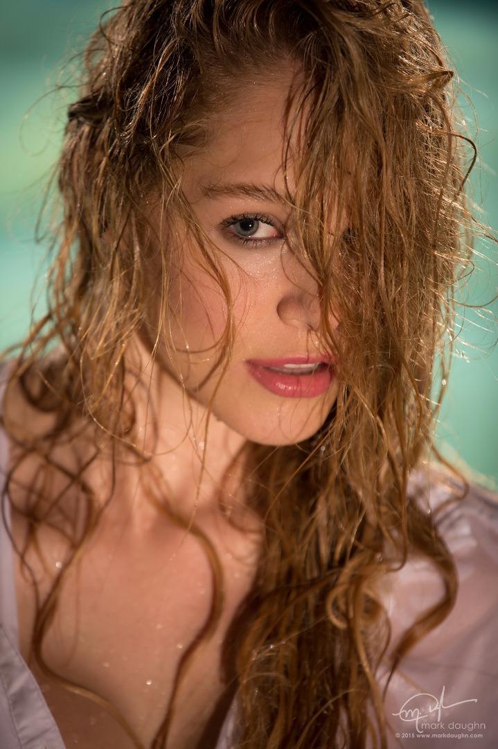 Female model photo shoot of Connie Downs by Mark Daughn