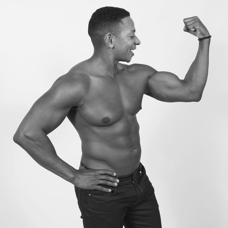 Male model photo shoot of A Michael Robinson in Hartford, CT