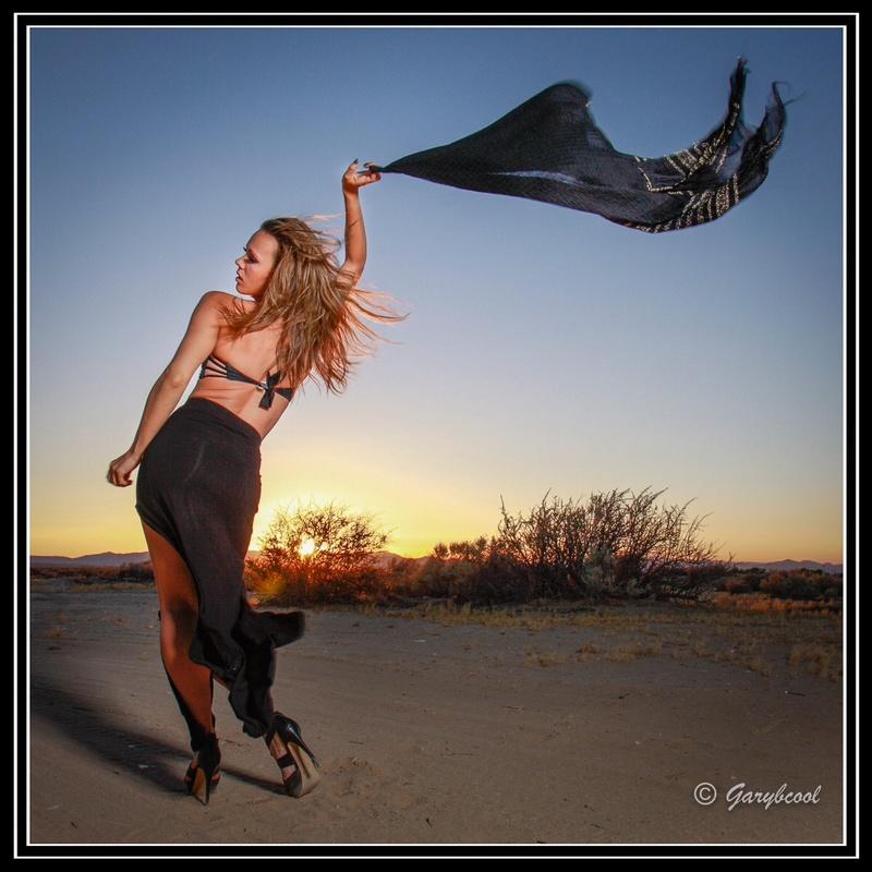 Male model photo shoot of GaryBCool in Mojave Desert