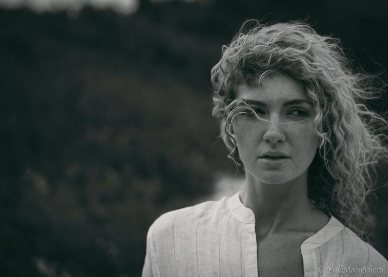 Female model photo shoot of CarleySchumann in Island Beach State Park, NJ