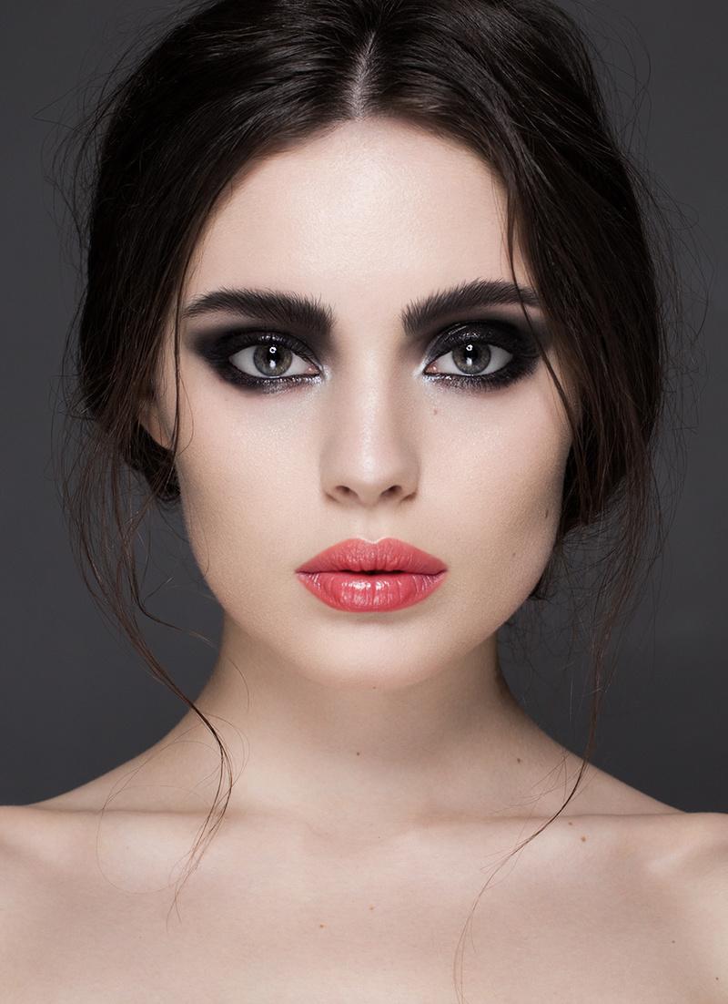 Female model photo shoot of Yevgenija Stypka in moscow