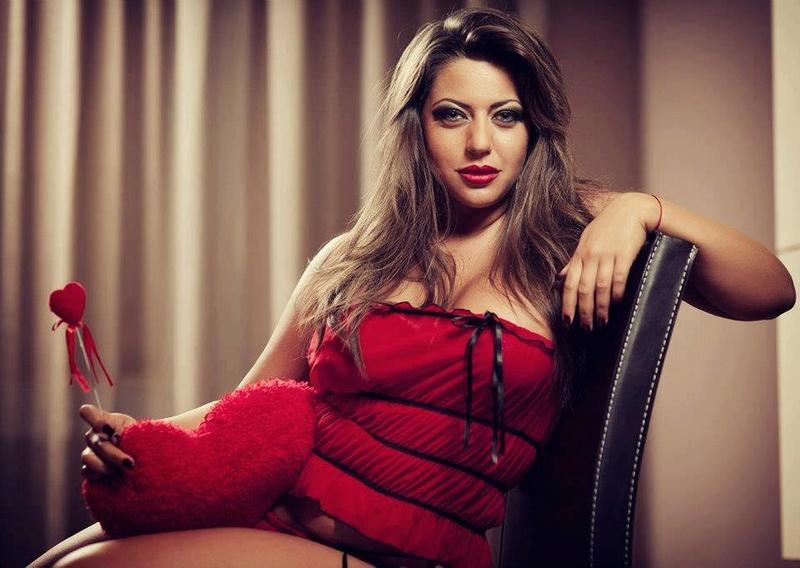 Female model photo shoot of Roksana Gantova in FHM - Sofia Bulgaria