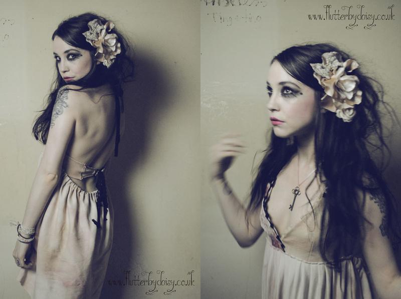 Female model photo shoot of Flutterbydaisy in London