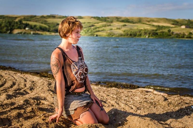 Female model photo shoot of Ember-Stardust in BUffalo Pound