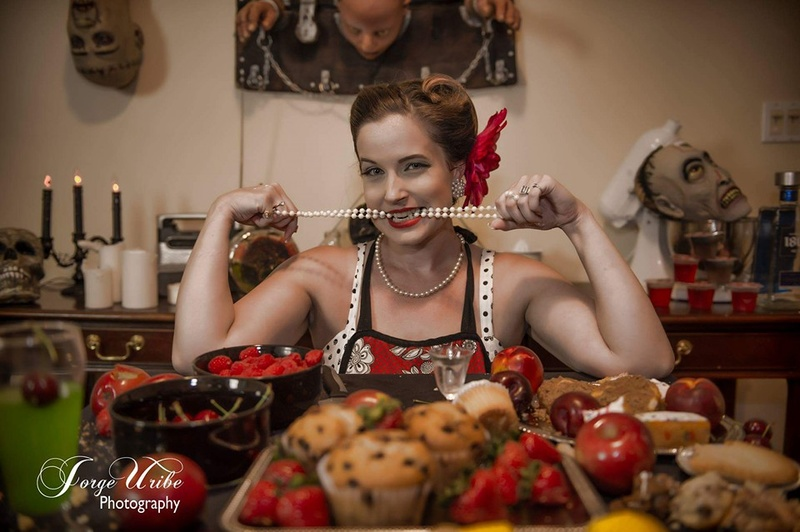 Female model photo shoot of Bunniejo