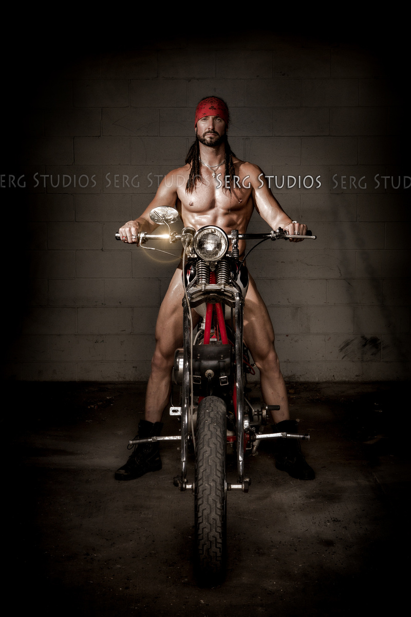 Male model photo shoot of Serg Studios