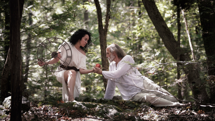 Male and Female model photo shoot of Sail Earle Beithe and Jennifer-Evie by Captive Essence in Massachusetts
