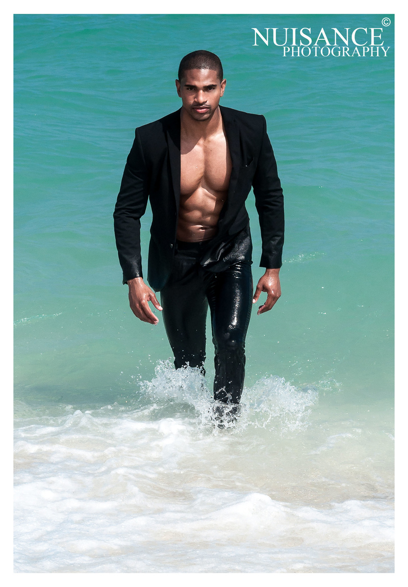 Male model photo shoot of Daniel T Brown by Nuisance Photography in Haulover Beach, Miami Florida