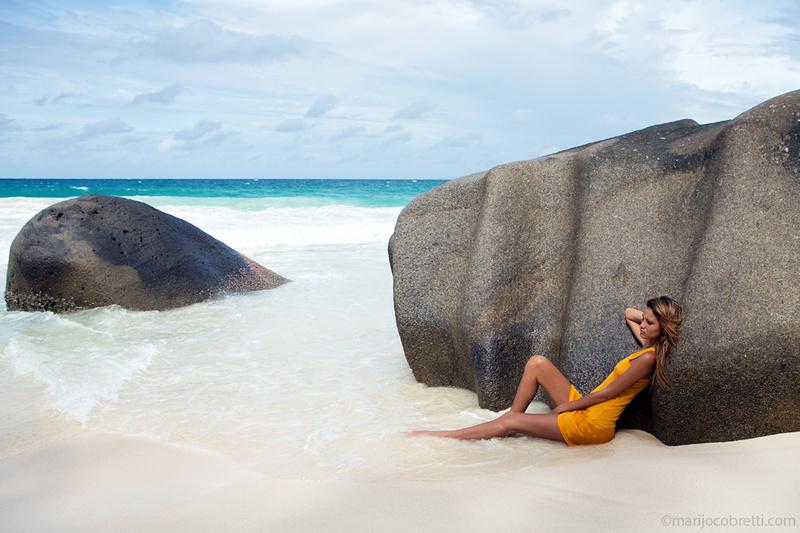Male model photo shoot of marijo cobretti  in Seychelles
