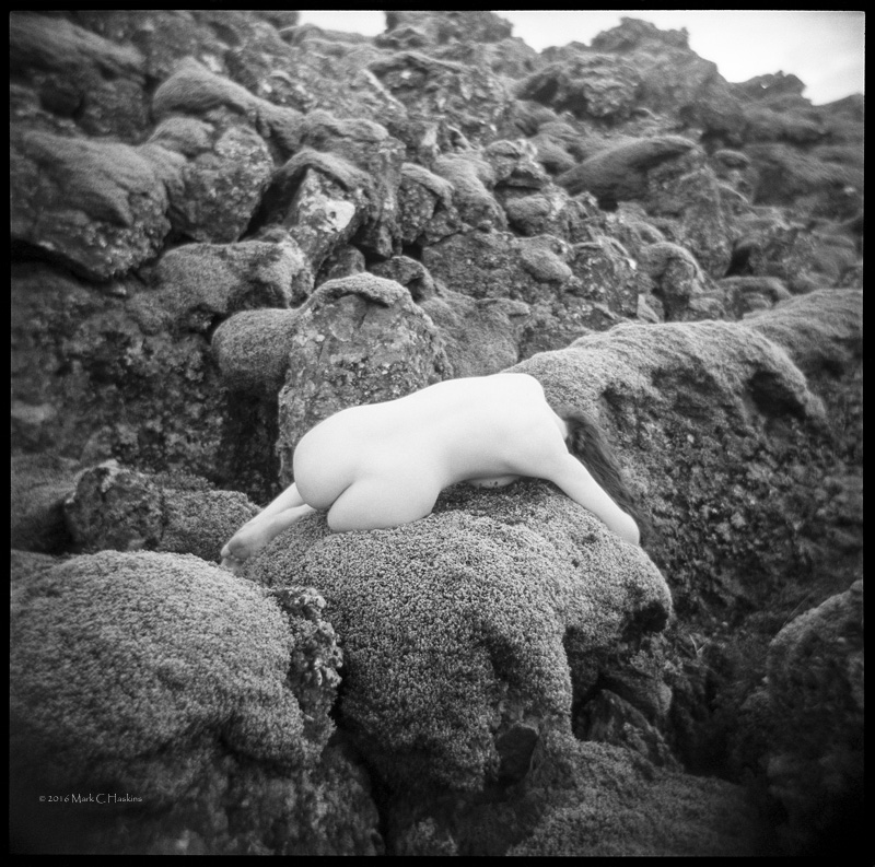 Male and Female model photo shoot of Mark C Haskins and Icelandic Selkie in Iceland