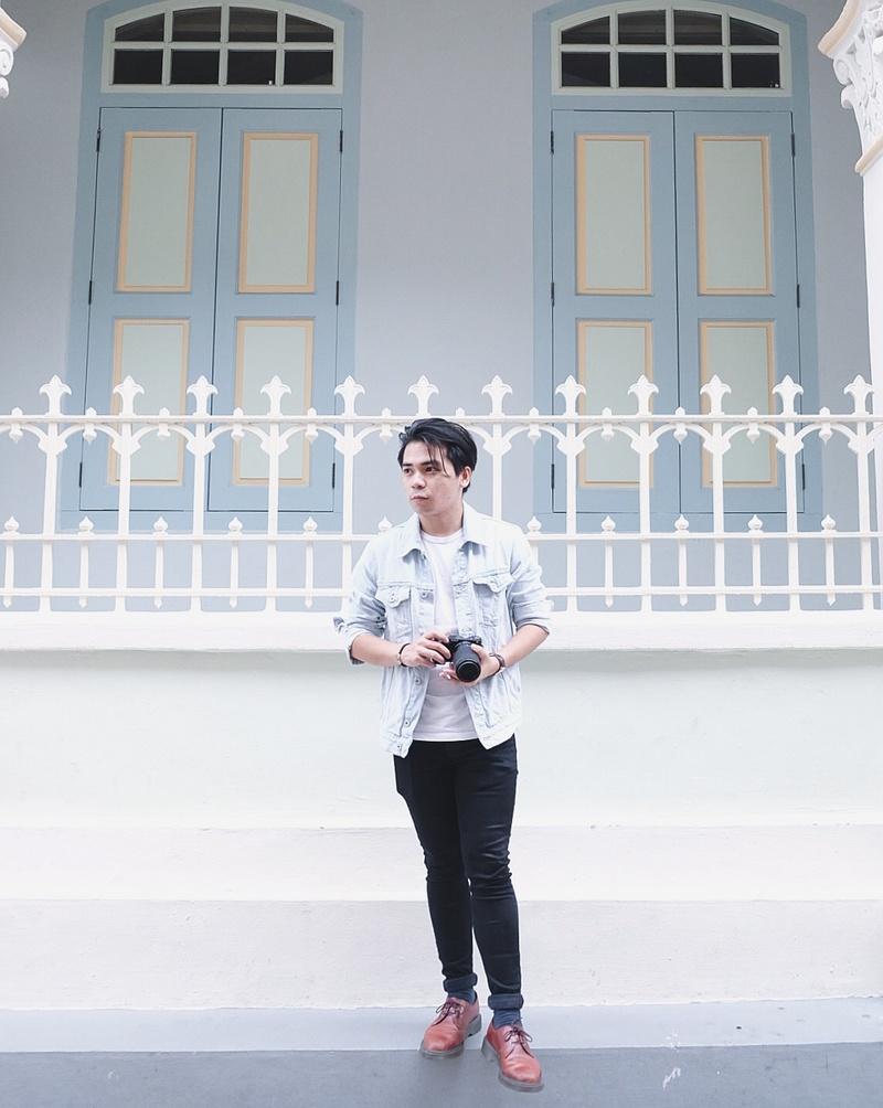 Male model photo shoot of sefsueno